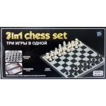 Игрушка детская набор настольных игр (нарды, шахматы, шашки), арт. 9918