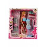 Набор для создания кукольного платья «Я ДИЗАЙНЕР» с куклой