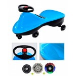 Машинка детская с полиуретановыми колесами «БИБИКАР СПОРТ» голубой
