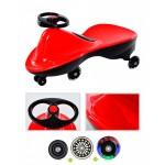 Машинка детская с полиуретановыми колесами «БИБИКАР СПОРТ» красный