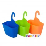 Корзина для хранения FunDesk SS3 голубой; зеленый; оранжевый