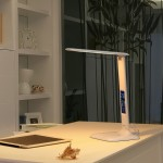 Настольная светодиодная лампа FunDesk LC1, белый