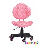 Детское кресло FunDesk SST5 Pink, Blue (38,5-47см)