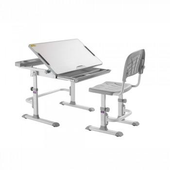 Растущая парта и стул-трансформер Cubby Disa Grey, (83см; 54,6-76,6см)