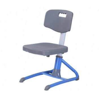 """Растущее кресло I-STUDY """"Бакалавр"""", голубой, розовый (36-46см)"""