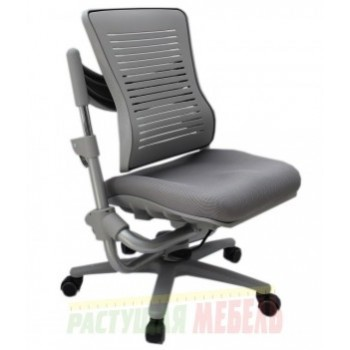 Стул Angel Chair зеленый, серый, черный низ/белый верх (34-53см)