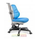 Стул-трансформер COMF-PRO Conan голубой, зеленый, серый, синий, черный низ/белый верх, оранжевый, розовый (36-56см)