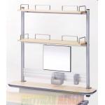 Полка-приставка для стола COMF-PRO Smart-S-Shelf Double