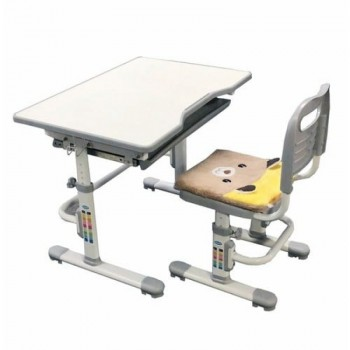 Комплект растущая парта и стул с чехлом RIFFORMA SET-10, разные цвета (80см; 53-76см)