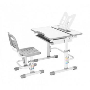 Комплект растущая парта и стул с чехлом RIFFORMA Comfort-07, разные цвета (80см; 54-76см)