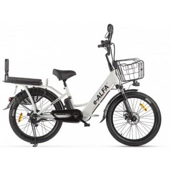 """Велогибрид GREEN CITY e-ALFA Fat (разные цвета, 500Вт, 24"""")"""
