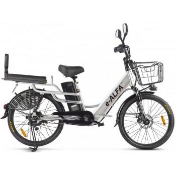 """Велогибрид GREEN CITY e-ALFA LUX (разные цвета, 500Вт, 24"""")"""