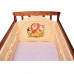 Бортик защитный для кроватки НАСТЕНЬКА, 40х360 см