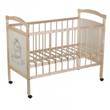 Кровать детская Колибри-Ладушка 4