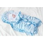 Конверт для новорожденного (атлас + вышивка) + 4 предмета, арт. 717