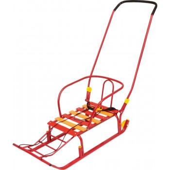 Санки детские Ника Тимка 5 Классик с колесом для транспортировки и ремнем безопасности