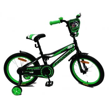 """ВЕЛОСИПЕД FAVORIT Biker 18"""", разные цвета, арт. BIK-18"""